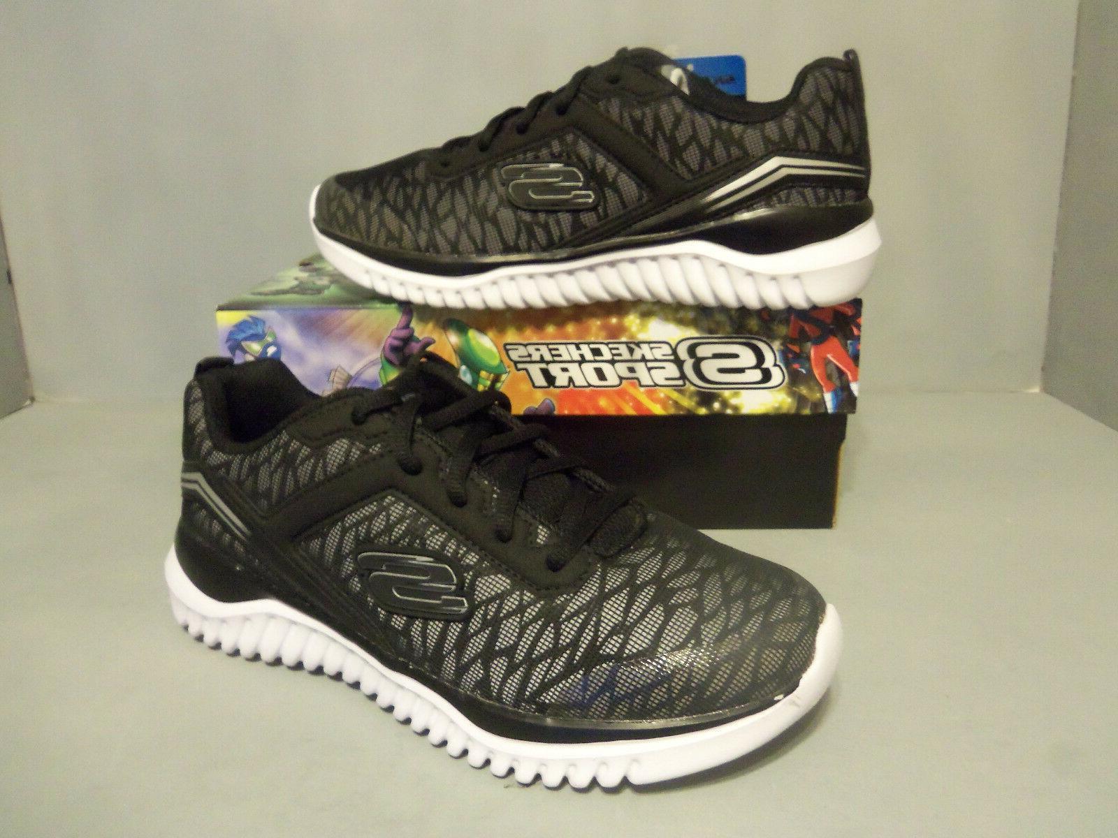 SKECHERS Boy's Youth Turboshift Sneakers Shoes Reflective, B