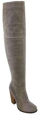 Chase & Chloe Women's Over The Knee Thigh High Suede Chunky
