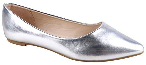classic pointy toe ballet flat