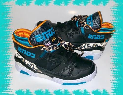 cons erx 260 basketball shoes sneakers cheetah
