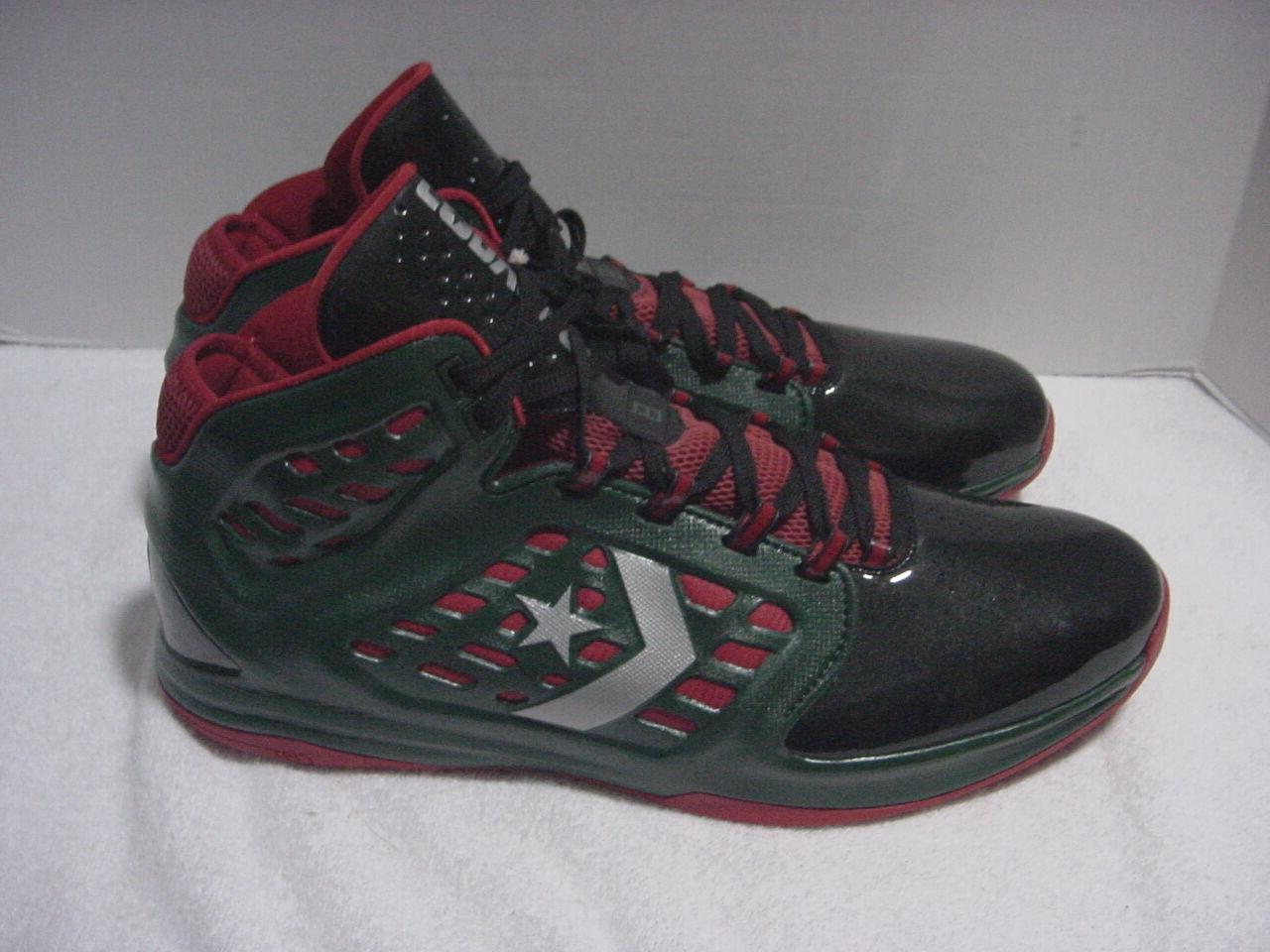 Converse Contain Men's basketball shoes Black and Green