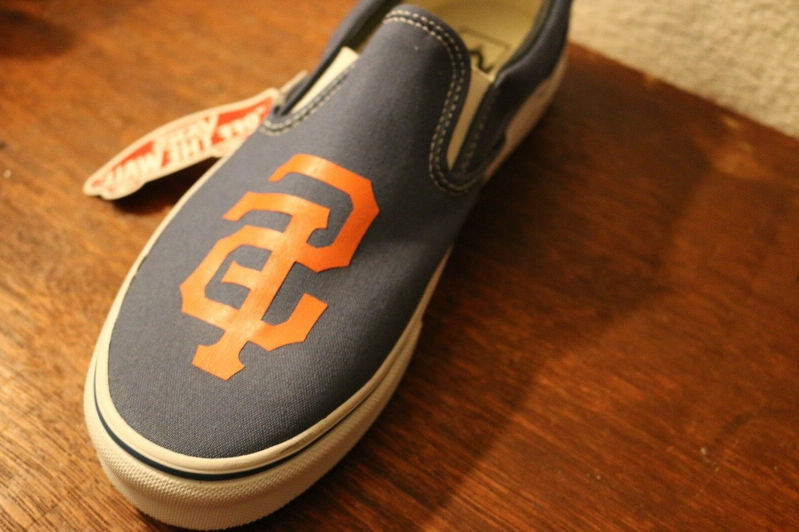 CUSTOMIZE ANY GIANTS SHOES football