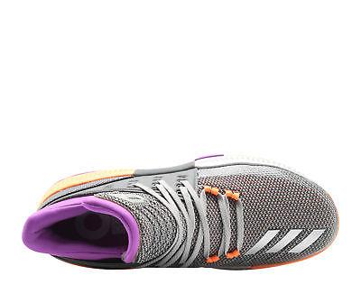 brand new 6a510 af79b Adidas Dame 3 Grey Purple Orange Men s Basketball BY8270