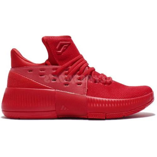 adidas J Roots Dame 3 Red Shoes BW0481