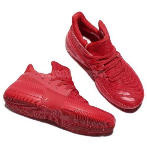 adidas Lillard 3 J 3 Red Junior Shoes