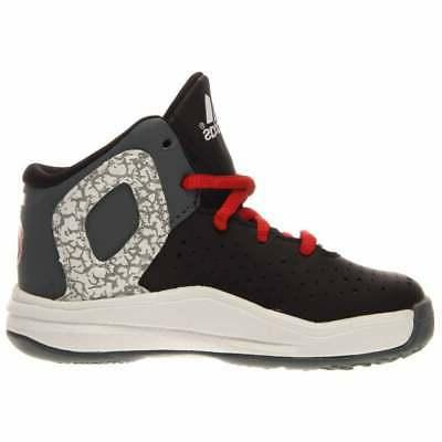 adidas D I Basketball Shoes - Black - Boys