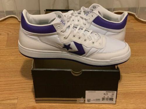 CONVERSE 83 MID White/purple 10 156972C