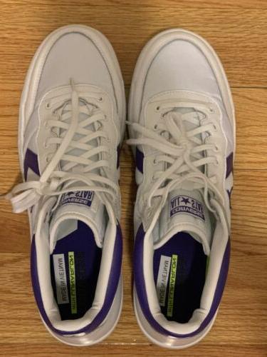 CONVERSE White/purple MEN Basketball 10 156972C