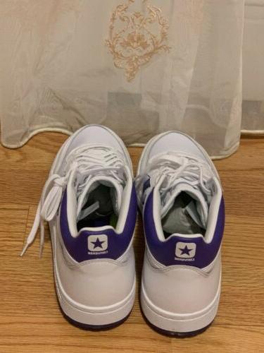 CONVERSE White/purple 10