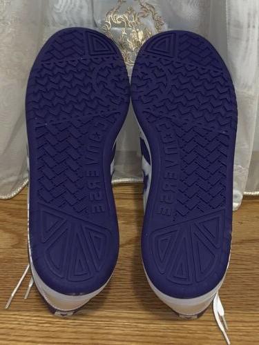 CONVERSE Fastbreak MID White/purple Basketball 10 156972C