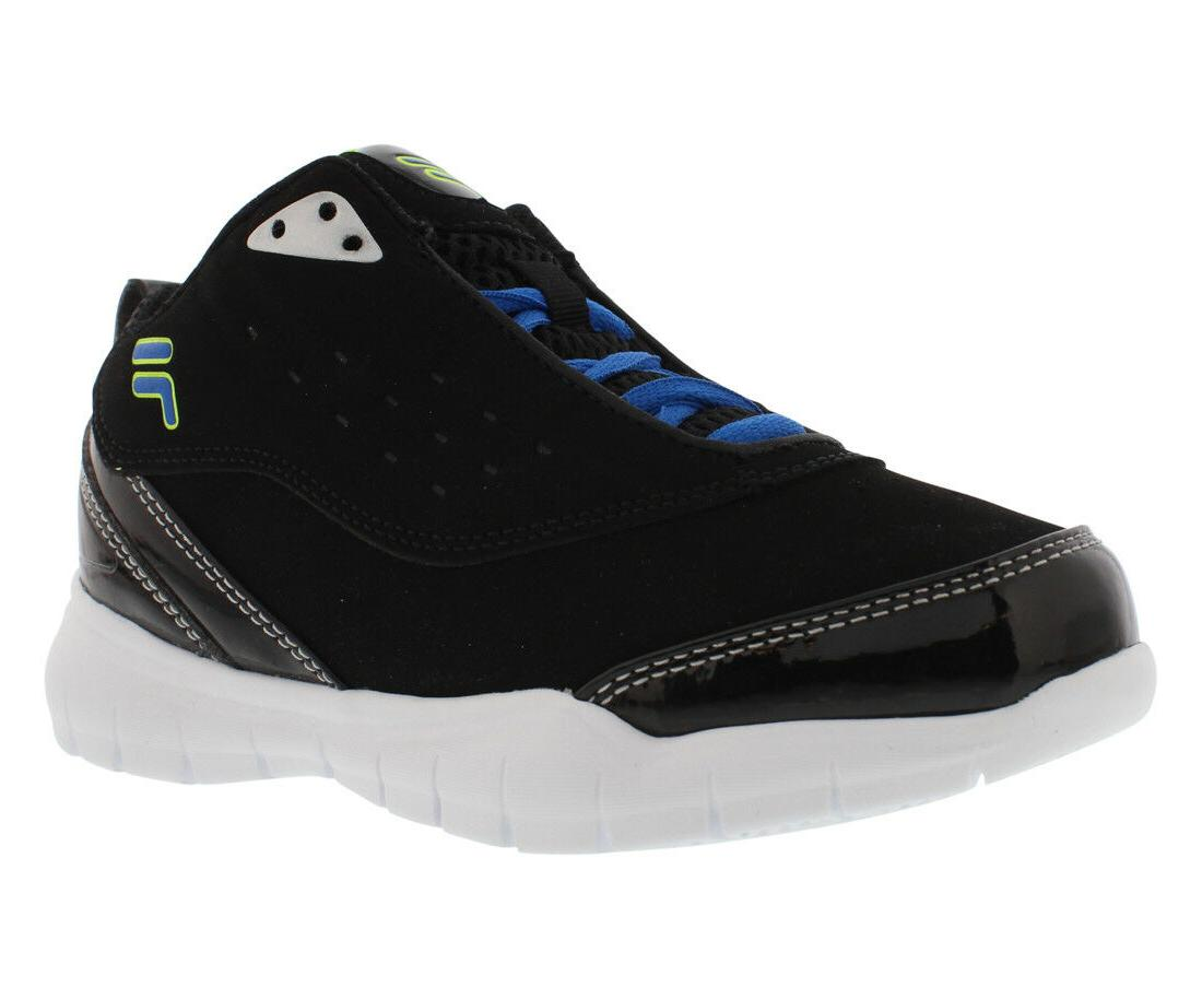 Fila FLEXNET Kids Black/Prcbl/Stf 3SB10076-990 Lace Up Baske
