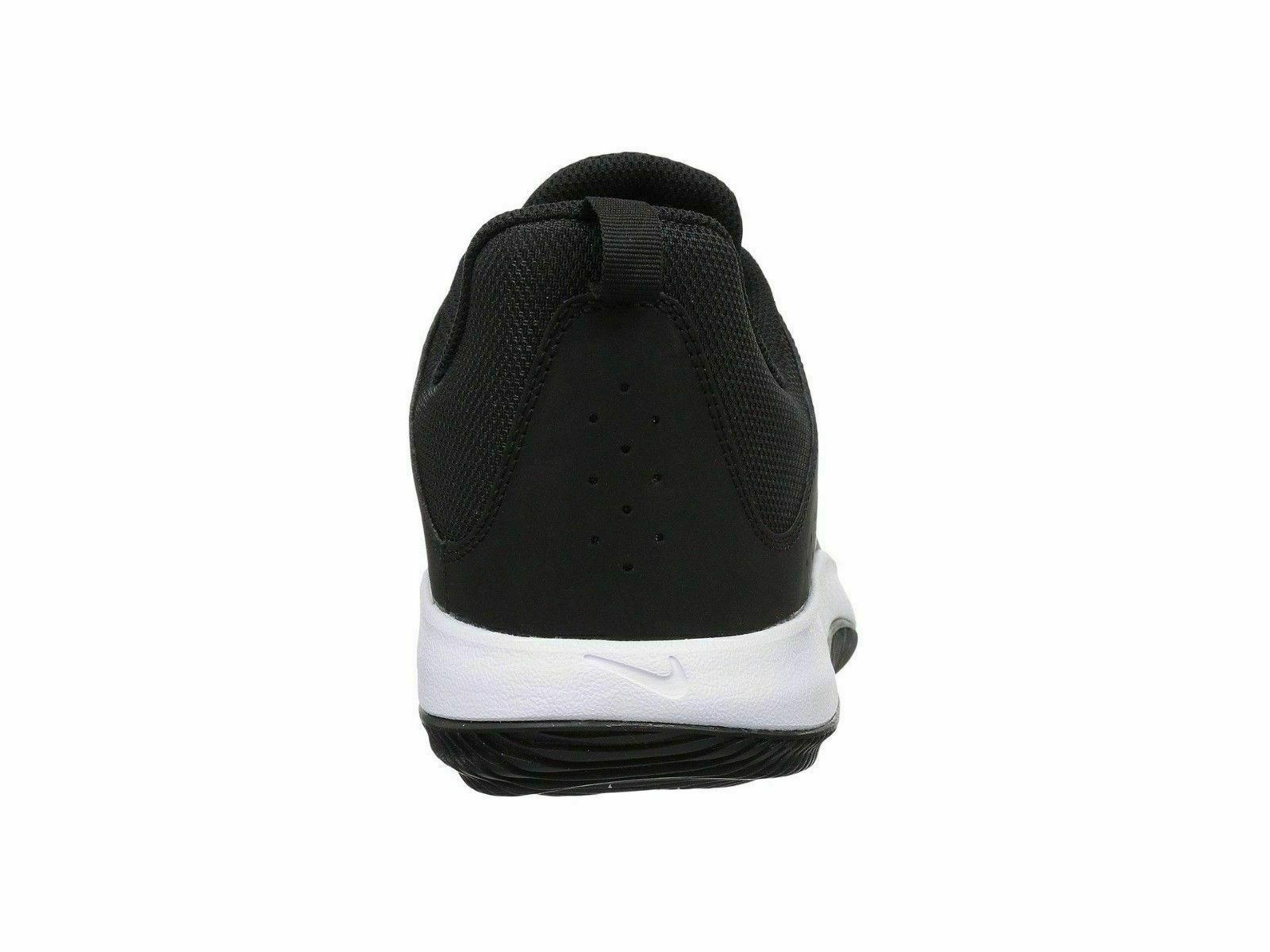 Nike Low Black White Basketball Shoes NEW!