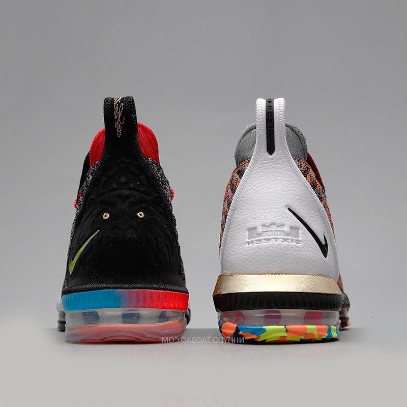 <font><b>Nike</b></font> Lebron 16 James 16 Arrival <font><b>Basketball</b></font> <font><b>Shoes</b></font> Air Cushion Sneakers Breatheble