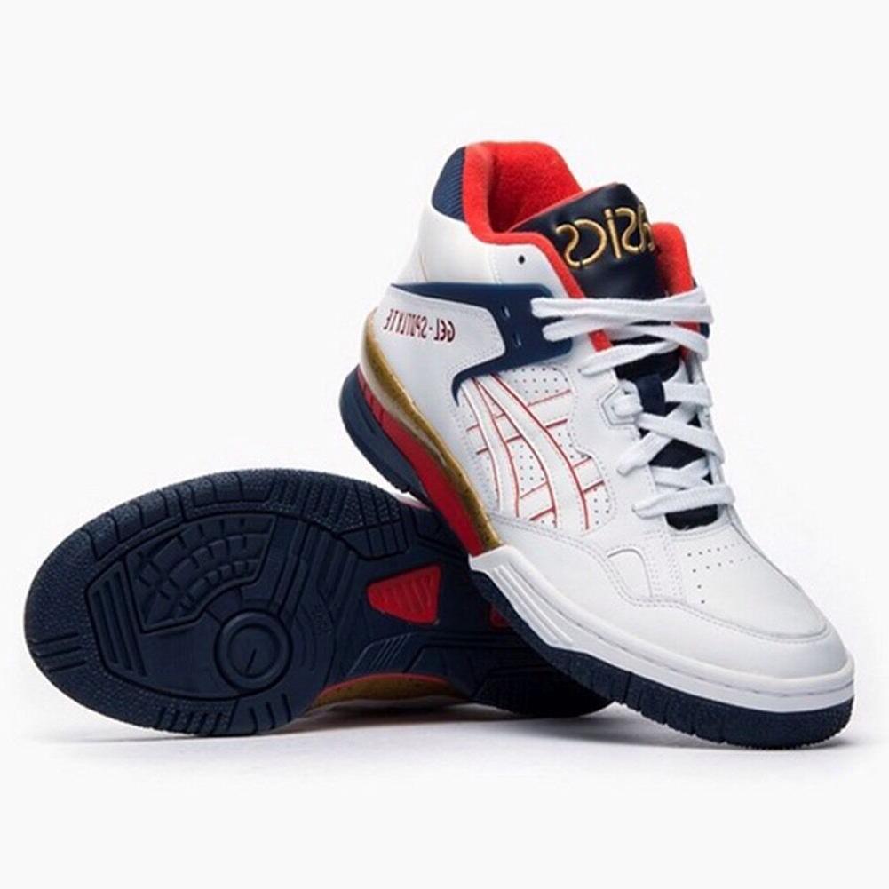 gel spotlyte h447l 5201 basketball shoes white