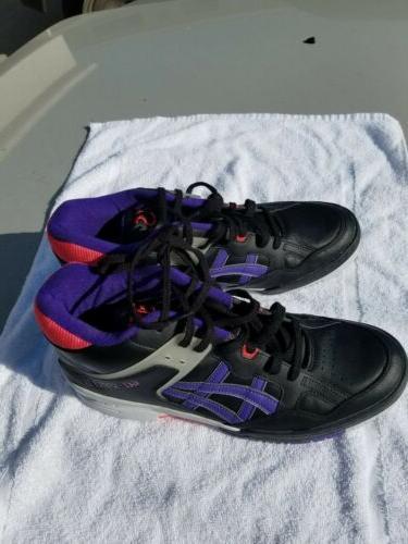 ASICS GEL-SPOTLYTE 'ISIAH BASKETBALL SHOES BLACK H419L