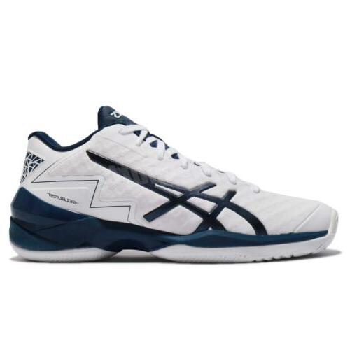 Asics White Basketball Sneakers