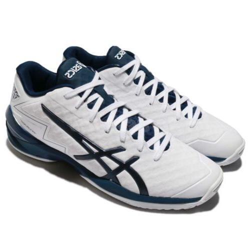 Asics GELBURST 21 Z White Black Blue Men Basketball Shoes Sn