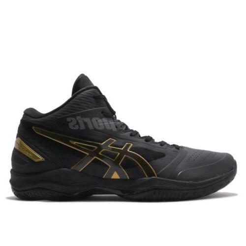 Wide Black Men Basketball Shoes