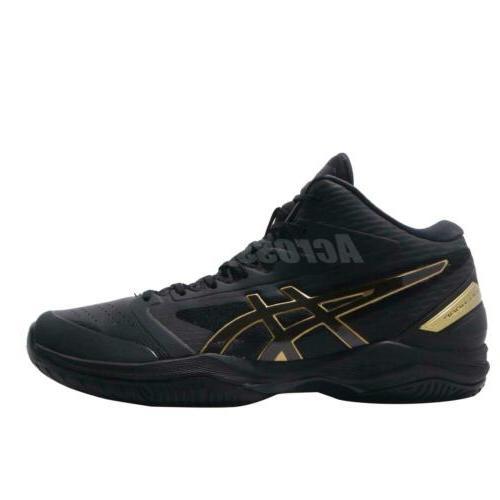 Asics V11 Wide Black Gold Basketball Sneakers