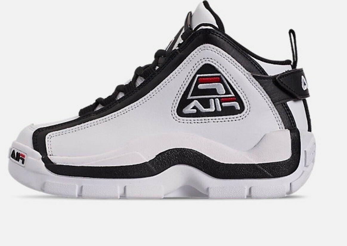 grant hill 2 mens shoe white black