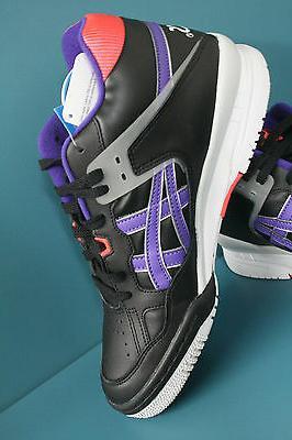 H419L-9030 Men's Asics Black-Purple Isiah 100%