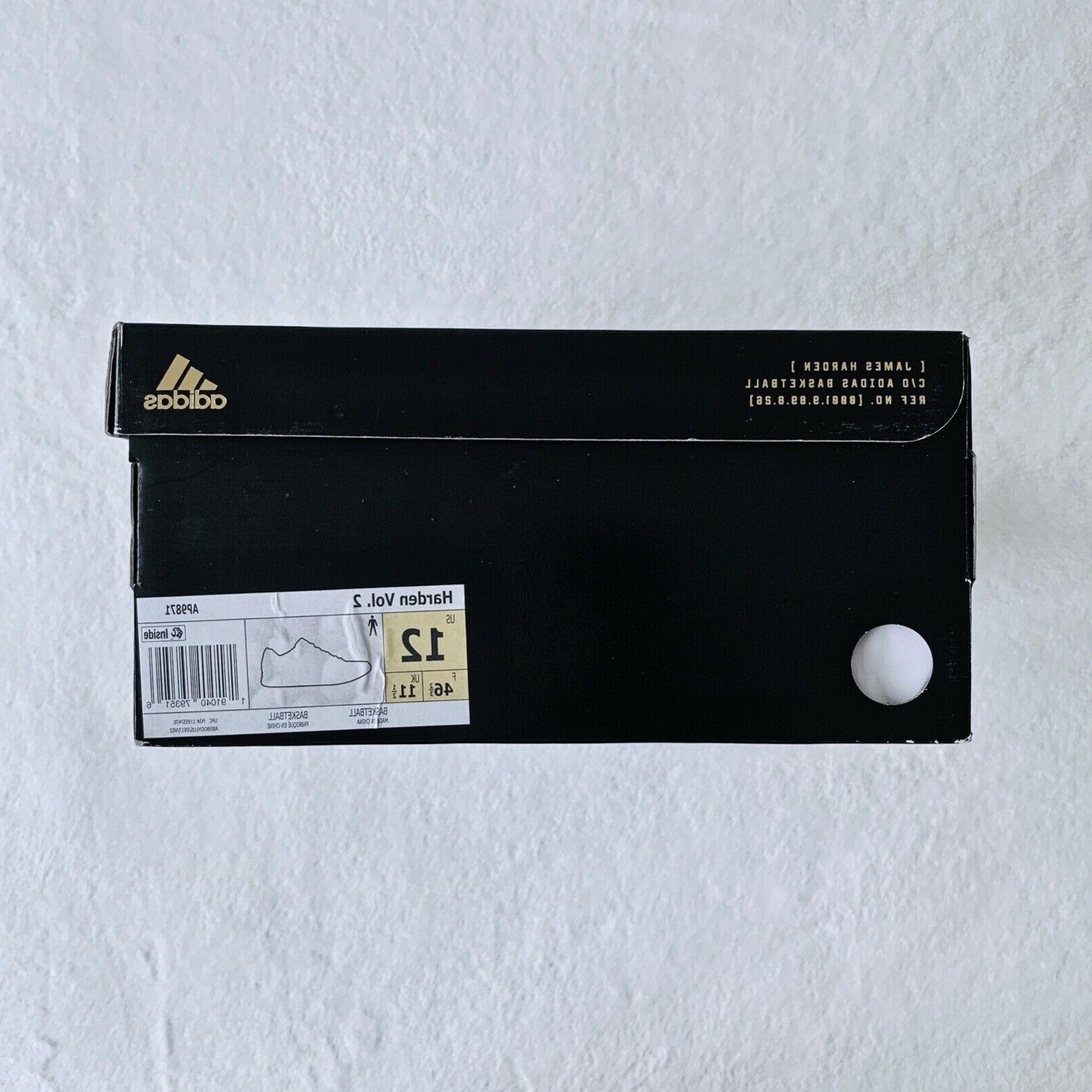 Adidas Harden Vol 2 Men's Shoes Size
