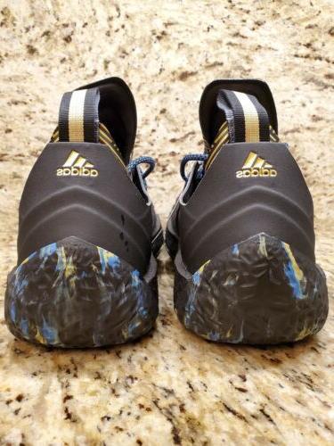 Adidas MVP 2018 Shoes Black Gold Size 8.5