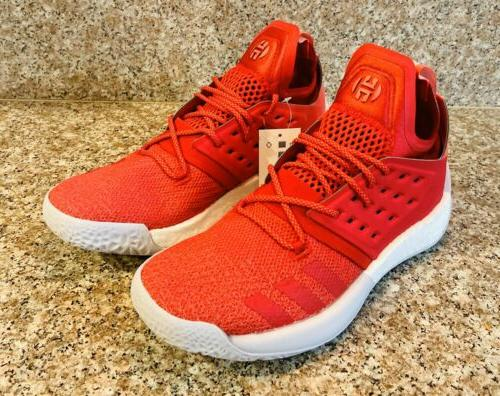 Adidas Harden Vol. Red Size 7 BC1015