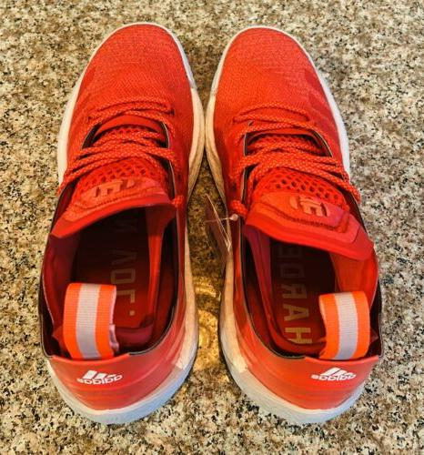 Adidas Harden Vol. 2 Red Size 8.5 BC1015