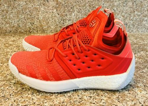 Adidas Harden Red Basketball Shoes Size Women's BC1015