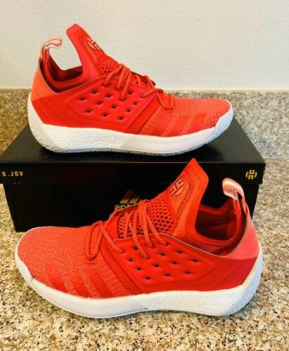 harden vol 2 red basketball shoes mens