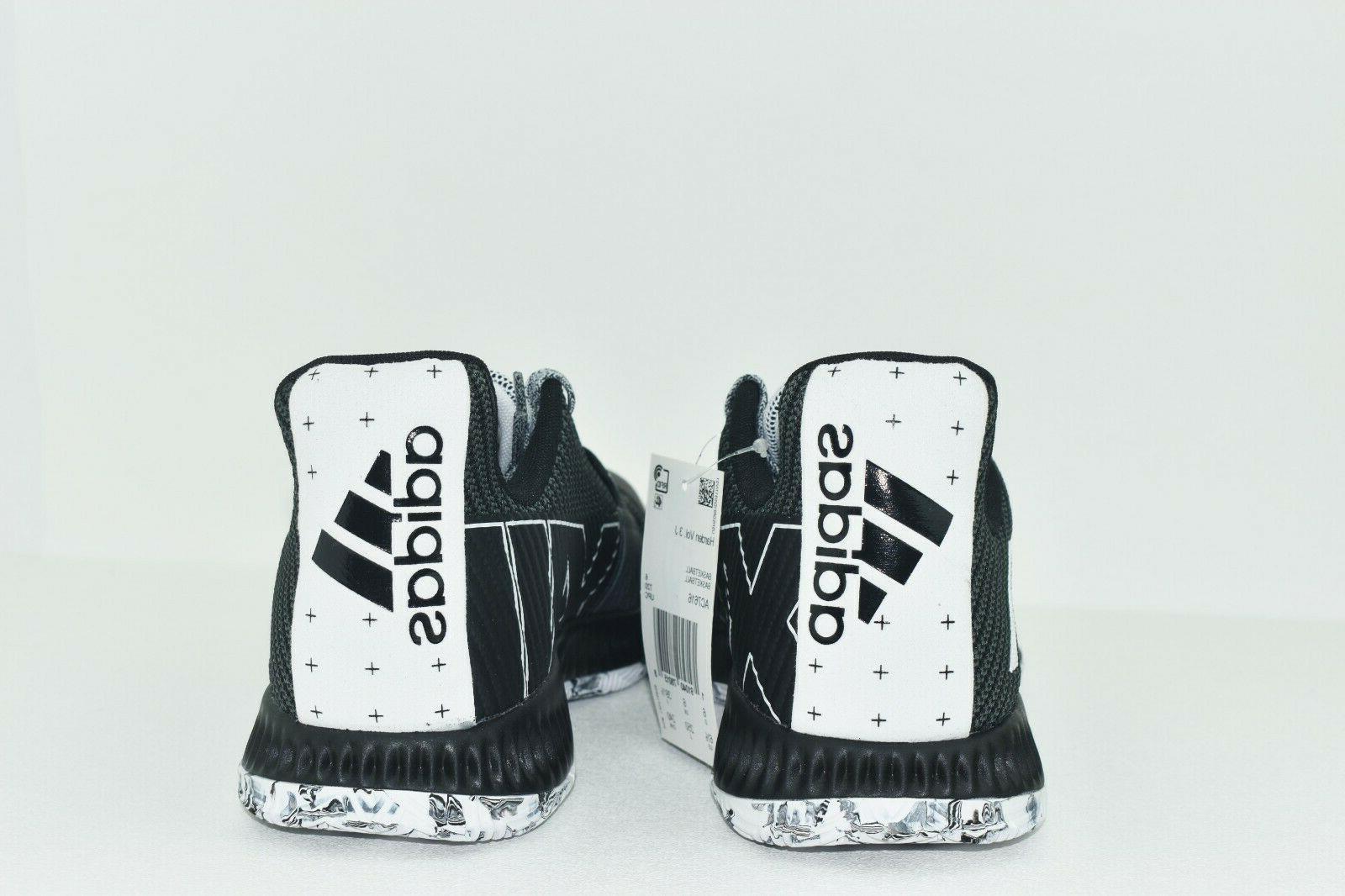 Adidas Black Mens Basketball Shoes