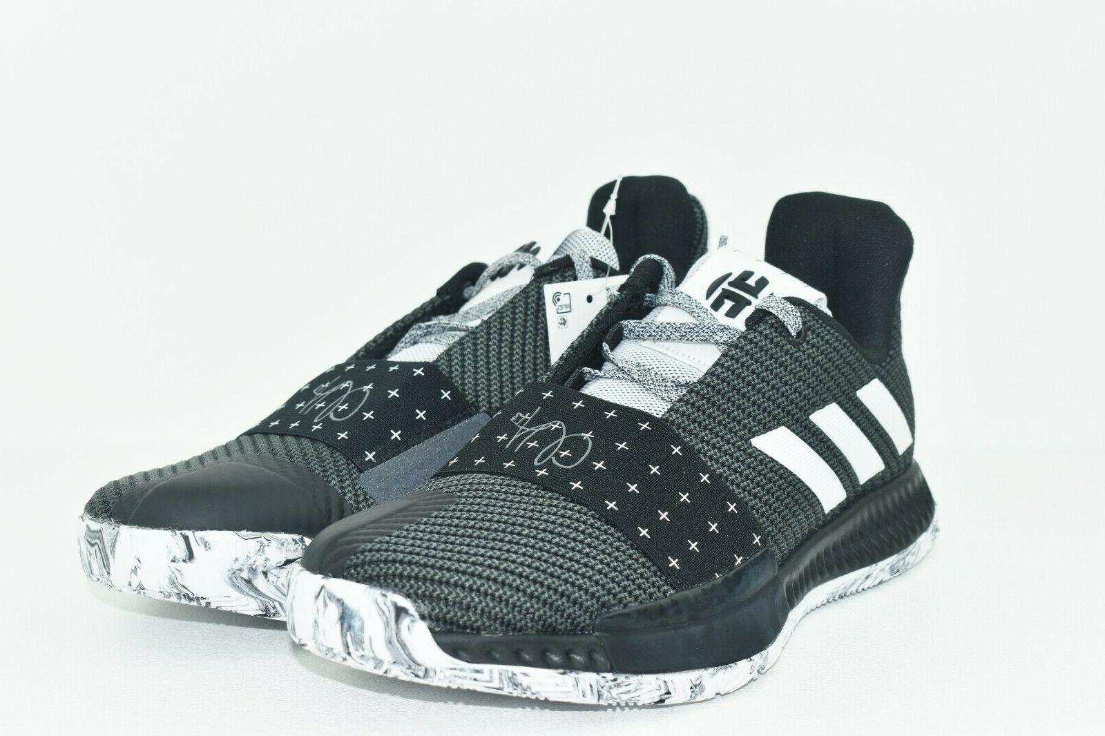 Adidas Harden Vol. 3 J James Black White Shoes AC7616