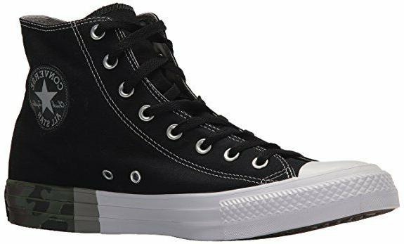 Converse Hi Top All Star 159549F Mens Black Dolphin White Sh