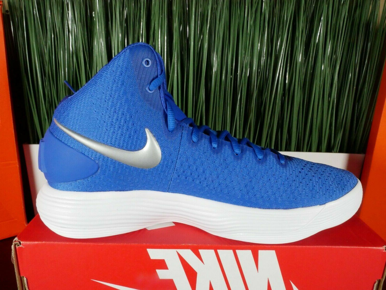 Nike Basketball Shoes Game Royal Blue Size