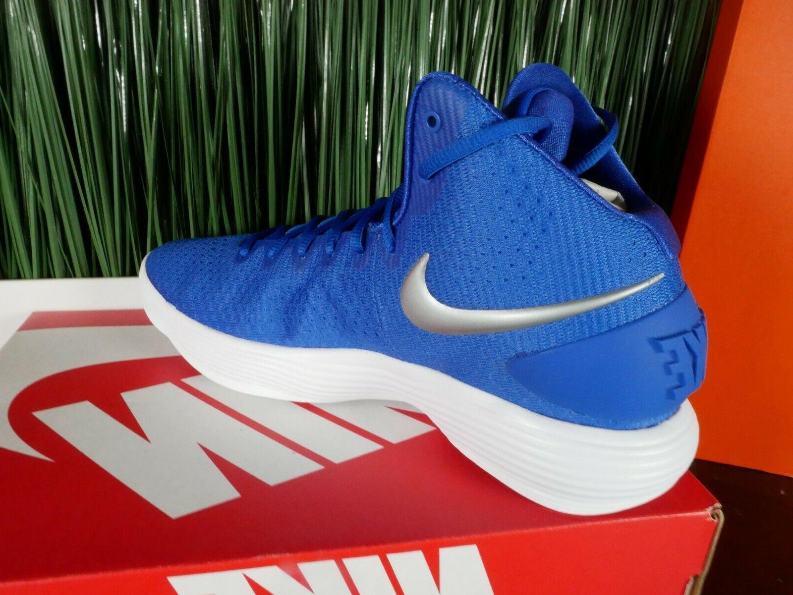Nike Hyperdunk Basketball Shoes Game Blue Multi