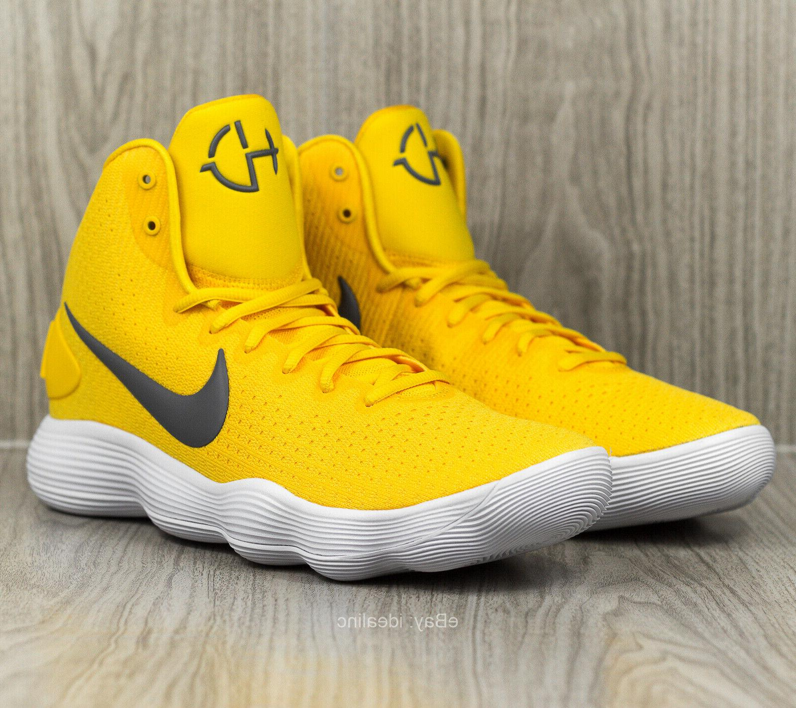Nike Hyperdunk 2017 Men's 13 Shoes Yellow 942571-703