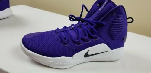 Basketball Shoes Purple White size 14