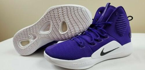 hyperdunk x tb basketball shoes purple black