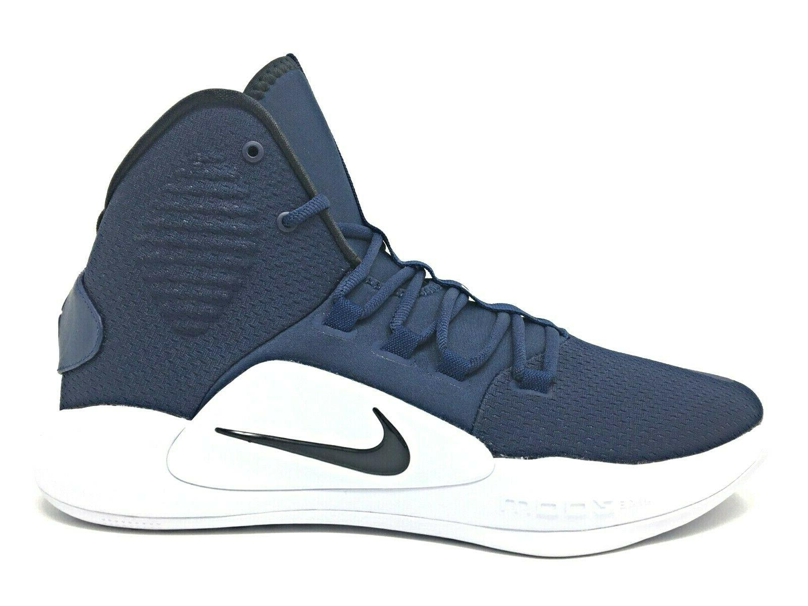 Nike Hyperdunk X Mens/Womens Basketball Shoes Navy Blue/White AR0467