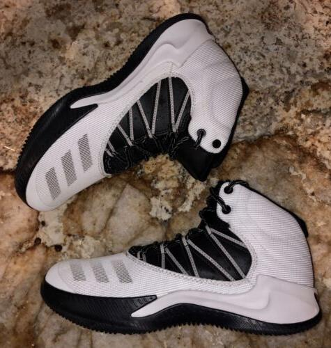 ADIDAS Infiltrate White Black Grey Shoes Mens Sz 7.5