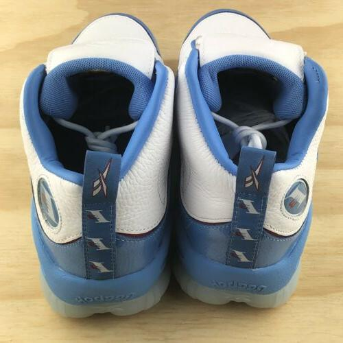 Reebok Legacy Blue Red Retro Basketball Shoes CN8405