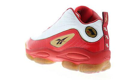 Reebok Iverson Mens Leather Athletic Gym