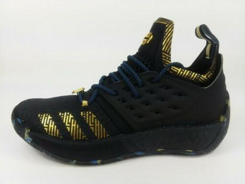 ADIDAS Harden 2 MVP Shoes Black Size 8