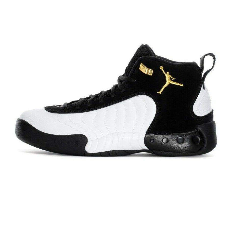 Jordan Gold-White Shoes