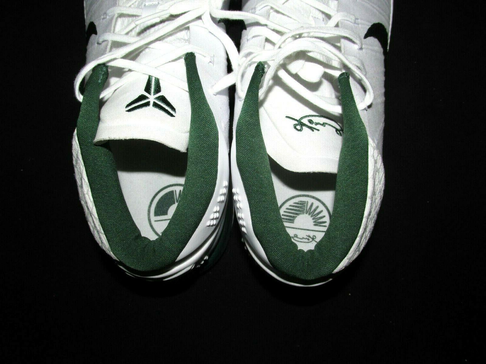 Nike AD TB Mid Basketball Shoes 15 White