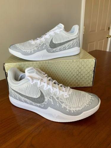 Nike Kobe White 908972-100 Elite Mens Size New