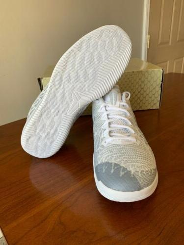 Nike Kobe Mamba Rage White Platinum Low Elite Mens Size New