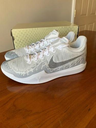 Nike Mamba White Low 908972-100 New