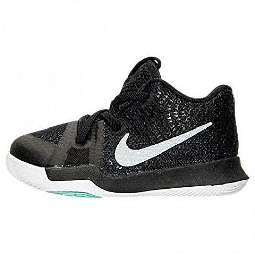 kyrie 3 black ice toddler boys shoe